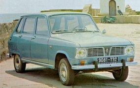 Renault 6 con faros redondos de 1.968