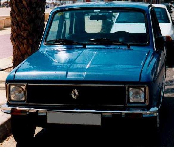 Renault 6 GTL 1.979. faros cuadrados