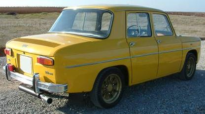 Renault 8 TS Copa Renault