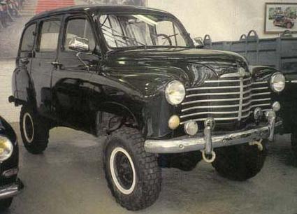 Renault Colorale Prairie 4x4.