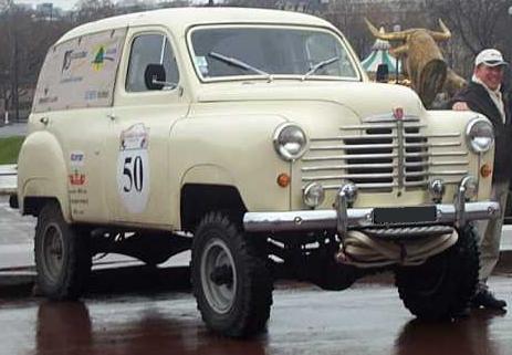 Renault Colorale Savanne 4x4 participante en el Dakar 2004