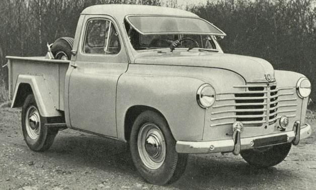 Renault Colorale Pick-up.