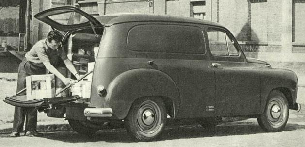 Renault Colorale Fourgonette