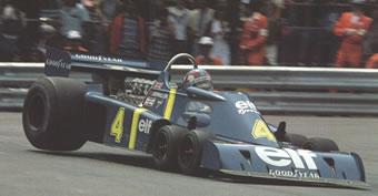 Tyrrell Renault de 6 ruedas