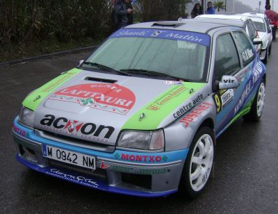 Renault Clio Maxi. RallySprint Hondarribia 2015