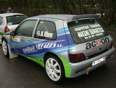 Renault Clio Maxi Mattin Villares. RallySprint de Hondarribia
