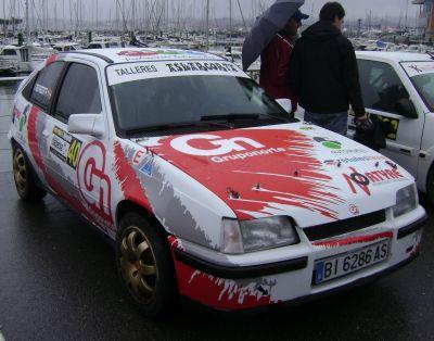 Opel Kadett GSi 16v. RallySprint Hondarribia 2015.