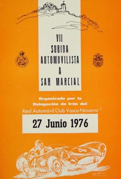 Portada reglamento VII Edición Subida a San Marcial