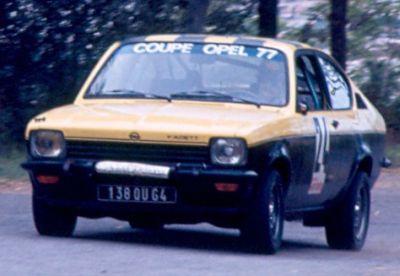 B.F Lapalisse ( Opel Kadett GTE) Foto; F. Iguiñiz