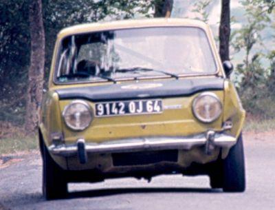 D. Gastellusarry (Simca Rallye) Foto; F. Iguiñiz