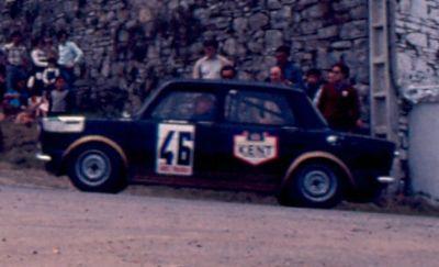 J. Arteaga (Simca Rallye) Foto; F. Iguiñiz