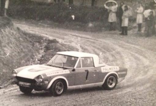 Jose Ignacio Sunsundegui (FIAT 124 Abarth)