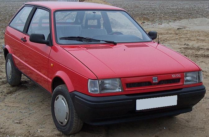 SEAT Ibiza NEW STYLE. 1991.