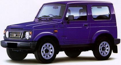 Suzuki Samurai última serie.