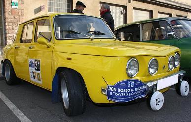 Renault 8 TS.