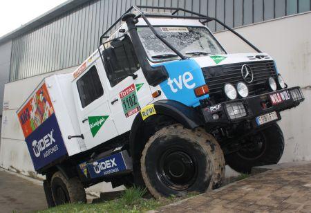 Mercedes Unimog Dakar TVE de Facundo Vitoria