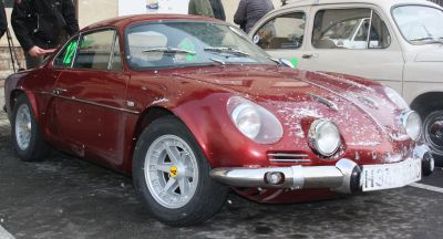 Alpine A110. III Travesia Don Bosco.