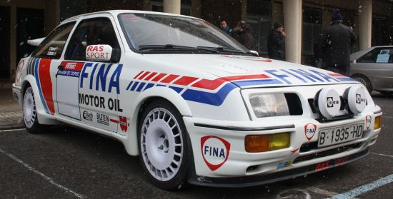 III Travesia Don Bosco. Ford Sierra RS Corworth.