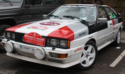 III Travesia Don Bosco. Audi Quattro.