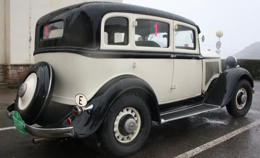 Plymouth PC SIX de 1933. IV Travesía Don Bosco.