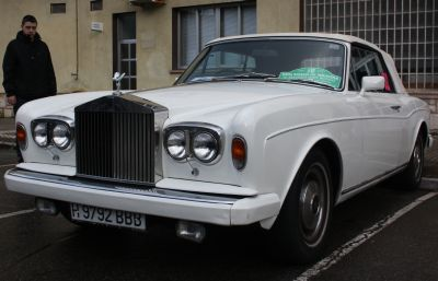 Rolls Royce Corniche. IV Travesía Don Bosco