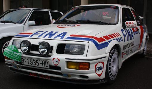 Ford Sierra Cosworth. Ganador al coche más Racing. Travesía Don Bosco.