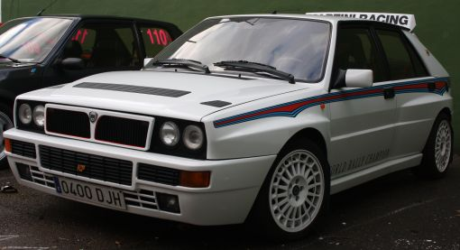 Lancia Delta HF Integrale. IV Travesía Don Bosco