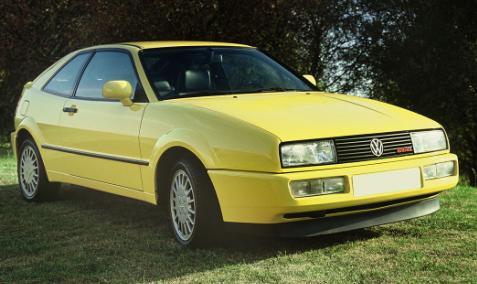 Volkswagen Corrado G60. Vista Frontal.