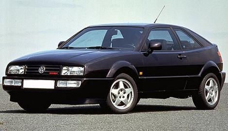 Volkswagen Corrado VR6. Vista Lateral.