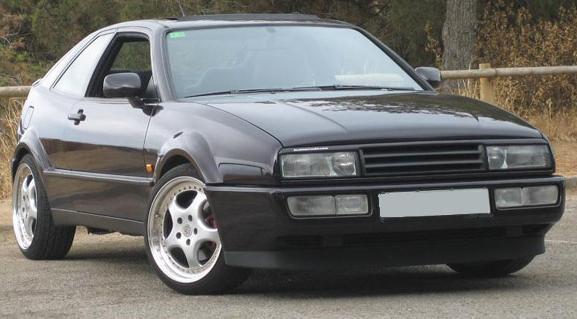 Volkswagen Corrado Storm. Vista Frontal.