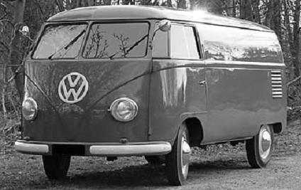 Volkswagen Transporter T1 Panelvan.